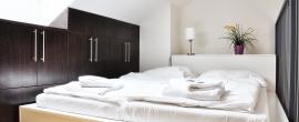 mezonetová ložnice